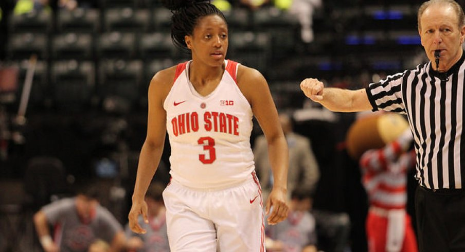 Kelsey Mitchell couldn't get going during Ohio State's loss to Michigan State.