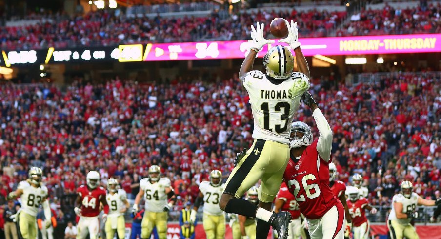 Michael Thomas is the best rookie receiver since randy moss.