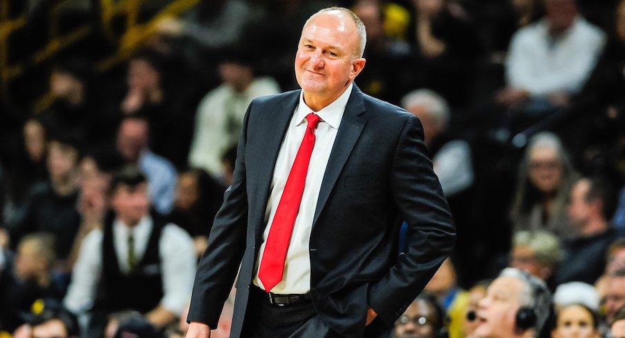 Ohio State coach Thad Matta