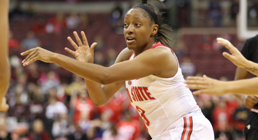 Kelsey Mitchell had a season-high seven assists.