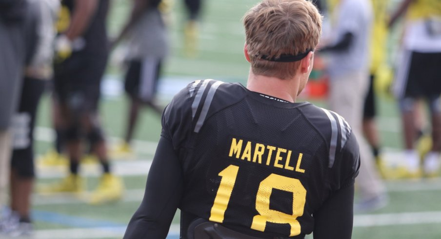 Tate Martell leads a new crop of Buckeyes signees on offense.