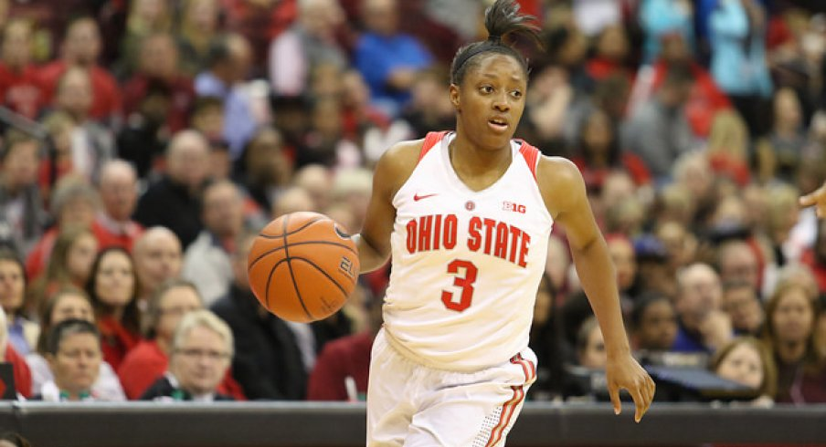 Kelsey Mitchell led the way with 32 points.