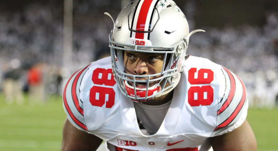 The Cleveland native emerged as a force on the interior of the Buckeye defense in 2016