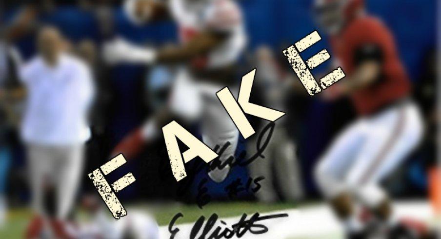 reputable site aa1fa 0ab03 Buyer Beware: Ezekiel Elliott Merchandise Signed by Not ...