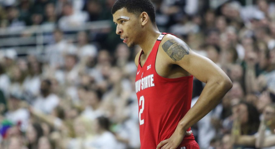 Ohio State forward Marc Loving against Michigan State
