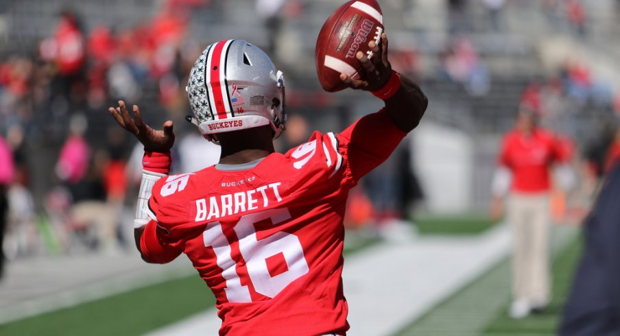 J.T. Barrett had an inconsistent season throwing the ball in 2016