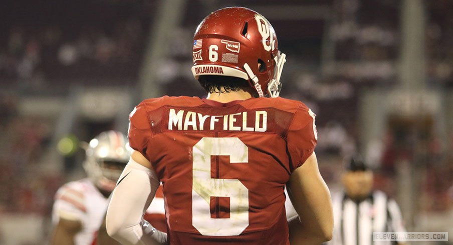 402988751 Oklahoma Starting Quarterback Baker Mayfield Arrested
