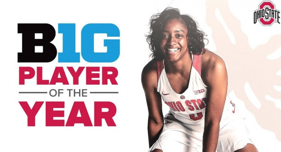 Ohio State S Kelsey Mitchell Named Big Ten Women S