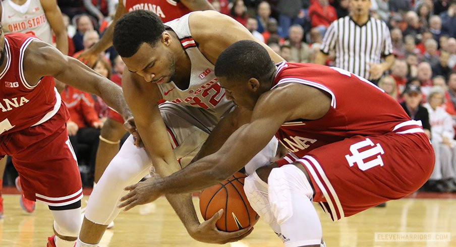 Ohio State's rally from a huge first half deficit falls short against Indiana.