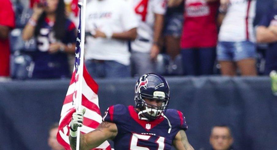 Houston Texans linebacker John Simon to the Indianapolis Colts.