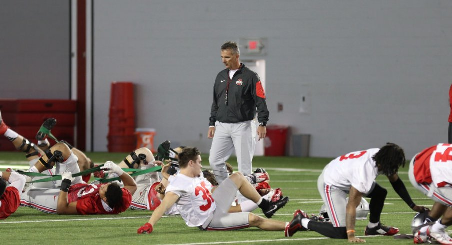An Early 2017 Depth Chart Projection For Ohio State After One Week Of Spring Practice