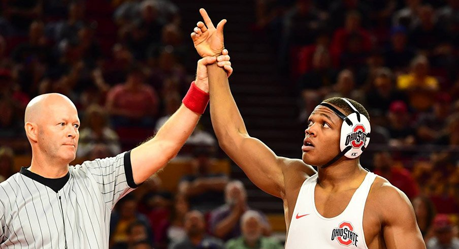 Two-time NCAA All-American Myles Martin