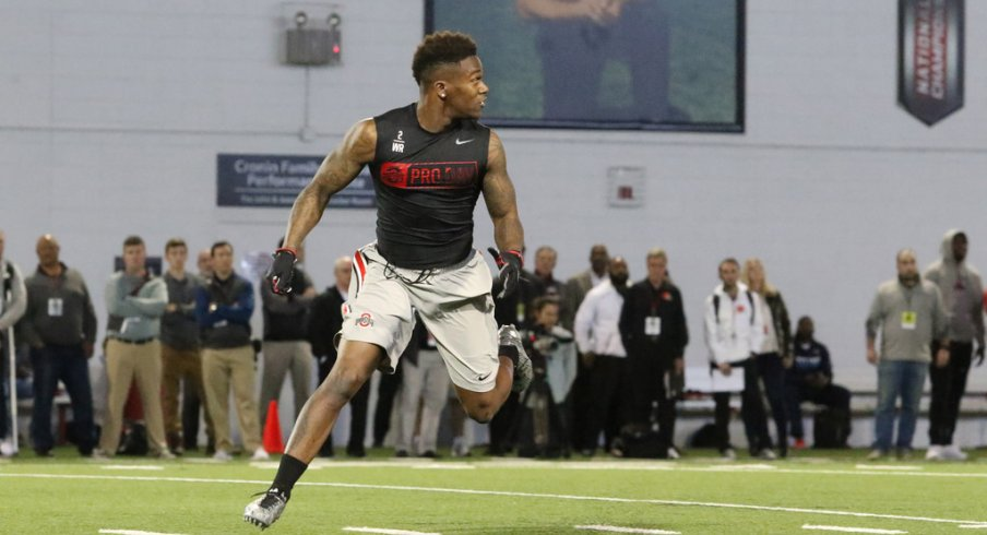 Takeaways from Ohio State's 2017 Pro Day on Thursday at the Woody Hayes Athletic Center.