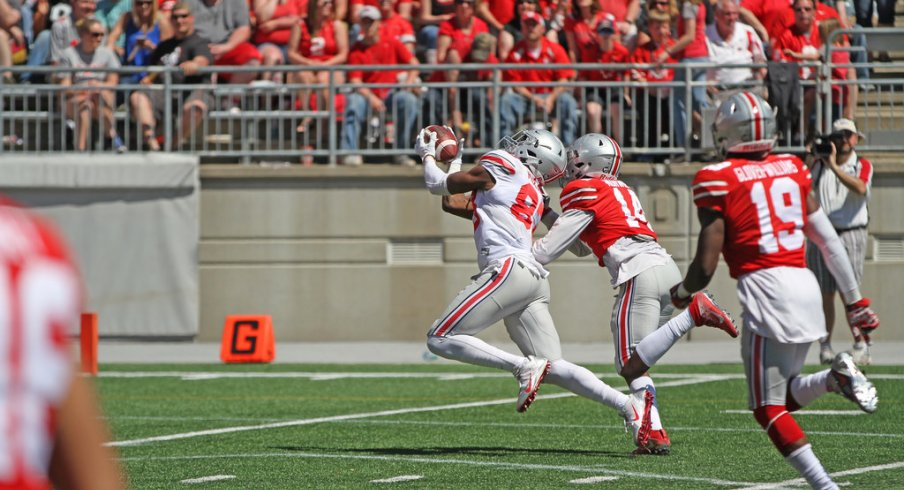 Zach Smith and three of his receivers talk about the best deep threats on Ohio State's football team.