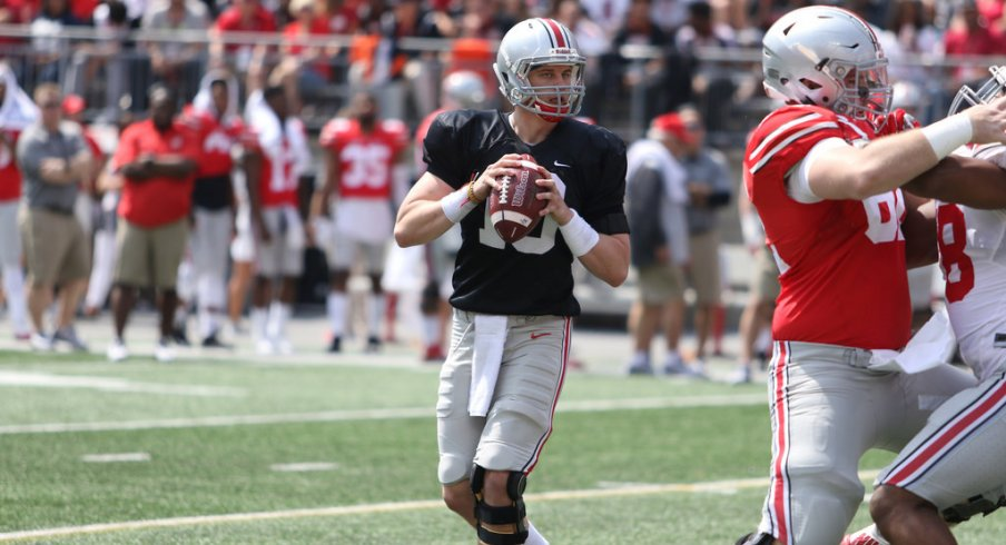 Joe Burrow and Dwayne Haskins are in for the long haul with their battle to be Ohio State's backup quarterback.