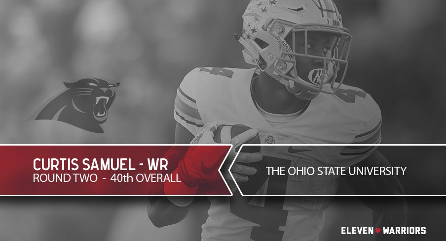 Curtis Samuel drafted.
