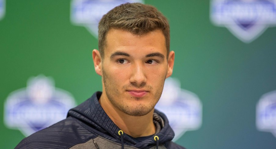 Mitchell Trubisky taken by the Chicago Bears.