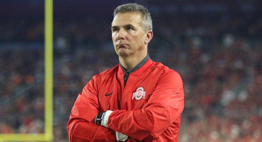 Ohio State head coach Urban Meyer.