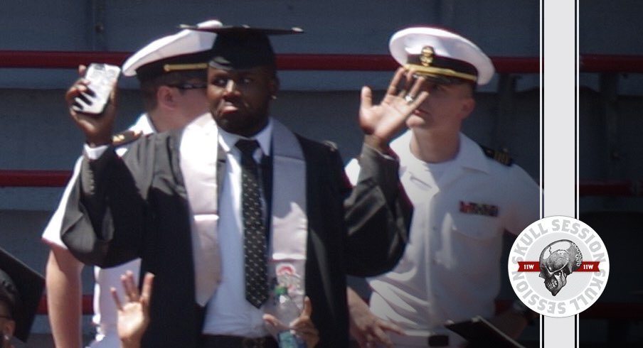 Cardale Jones graduates for the May 12th 2017 Skull Session
