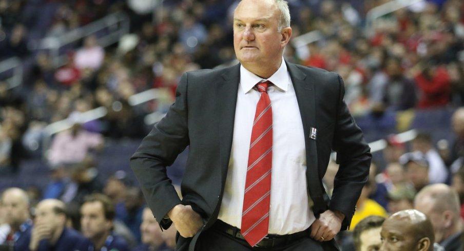 Ohio State head coach Thad Matta