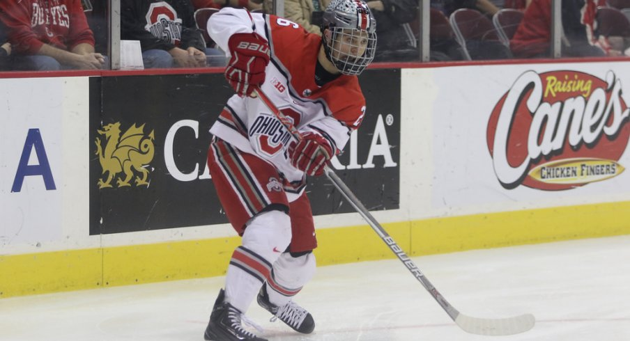 Image result for ohio state hockey 2018