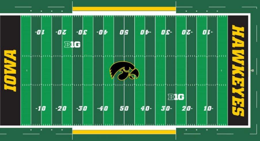 Hawkeyes get a field logo