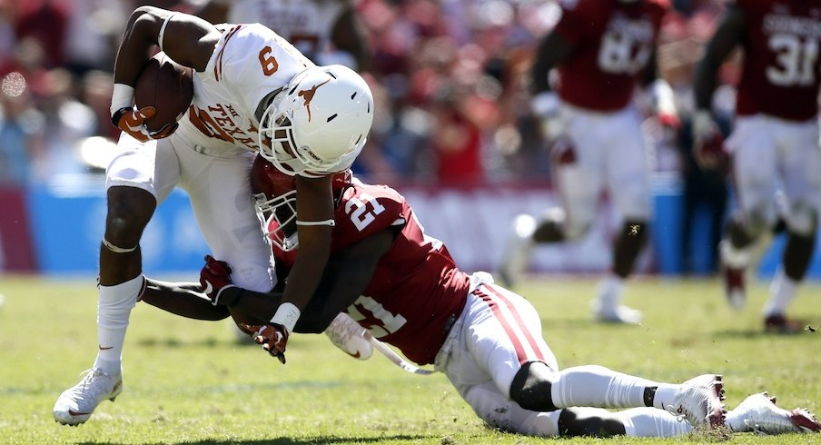 Oklahoma safety Will Sunderland suspended indefinitely.