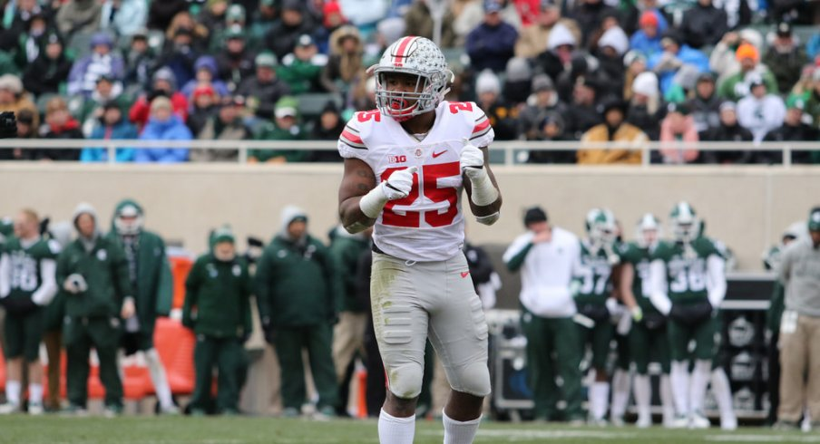 Mike Weber returns from solid 2016, and is hungry for more in his second season in the Buckeyes' backfield.