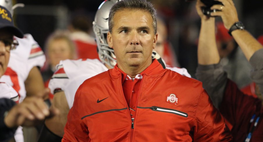 Ohio State coach Urban Meyer.
