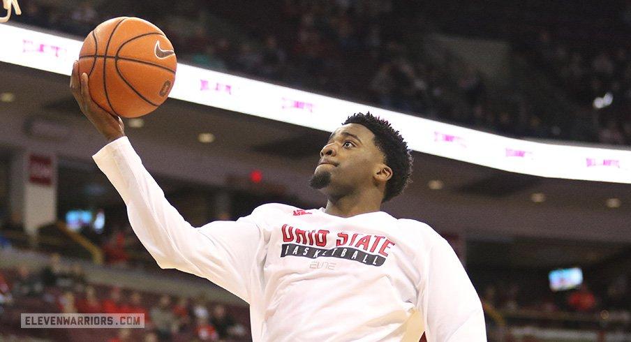 Derek Funderburk has been dismissed from the Ohio State basketball team.