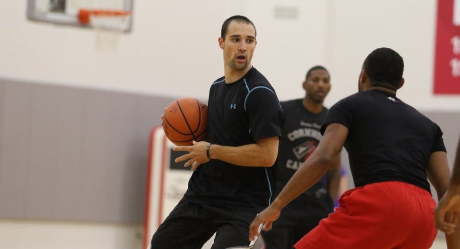 Aaron Craft is one of seven former Ohio State players participating in The Basketball Tournament this year. Scoonie Penn is coaching.