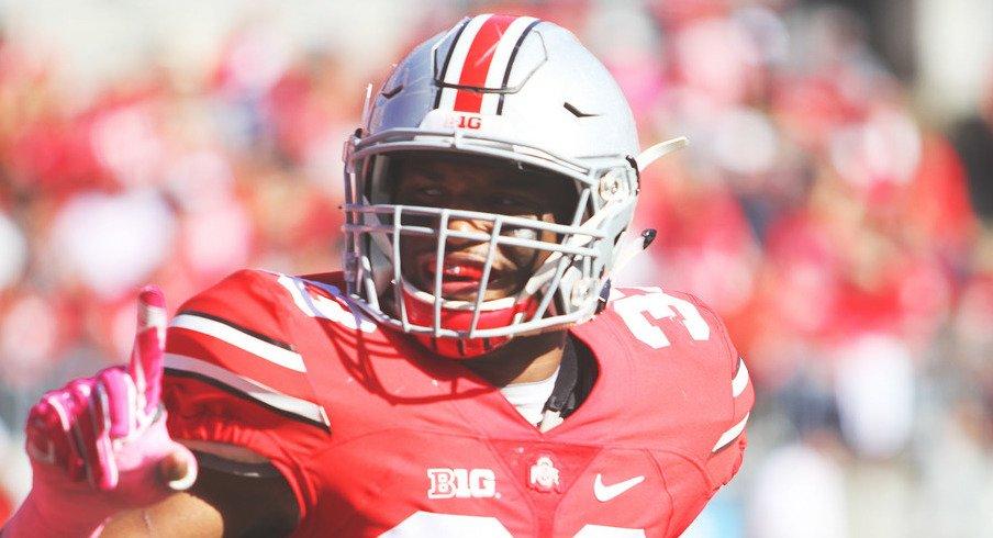 Ohio State linebacker Dante Booker ready for a big 2017.