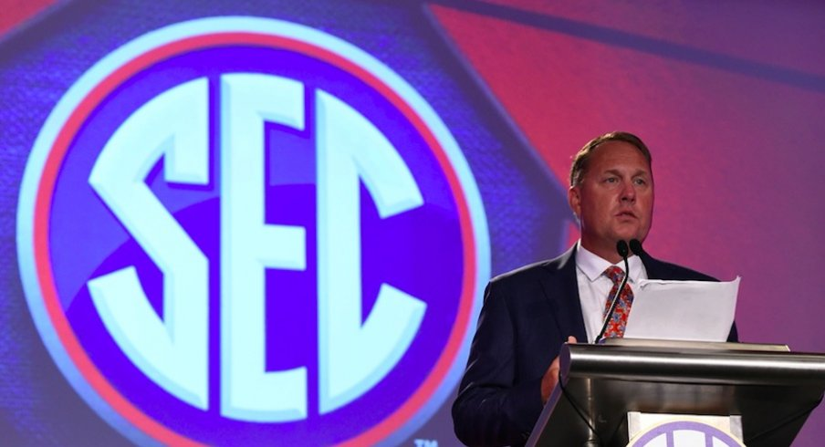 Hugh Freeze out at Ole Miss