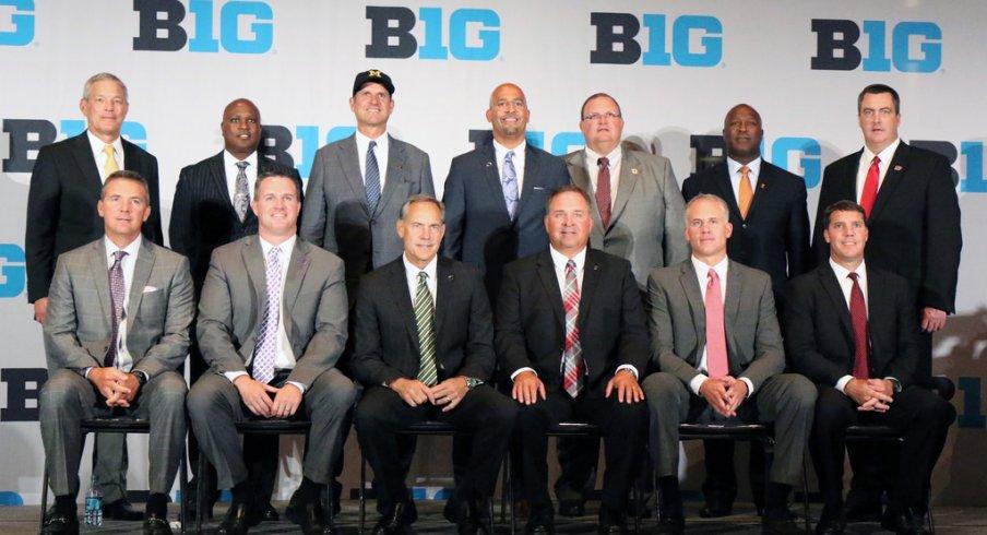 Last year's Big Ten football coaches.