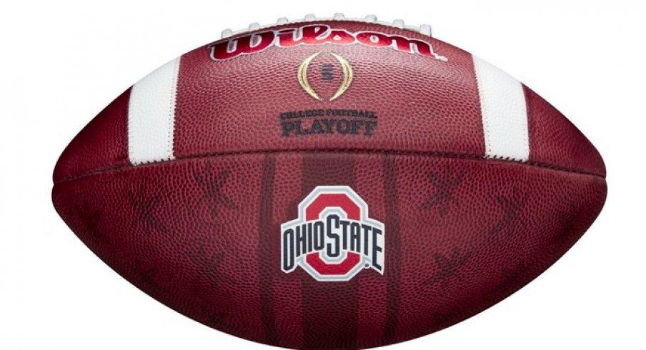 Ohio State new game balls.
