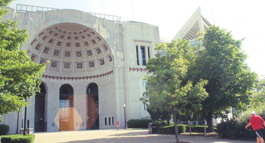 The rotunda of Ohio Stadium