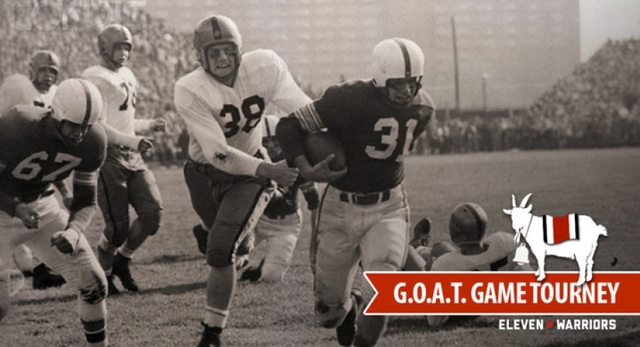 Vic Janowicz opens the Ohio State Football G.O.A.T. Game Tournament, Old School Bracket
