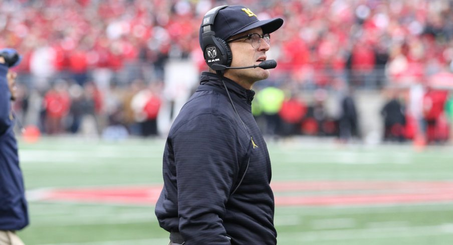 Jim Harbaugh takes an 0-2 record against Ohio State into his third season at Michigan.