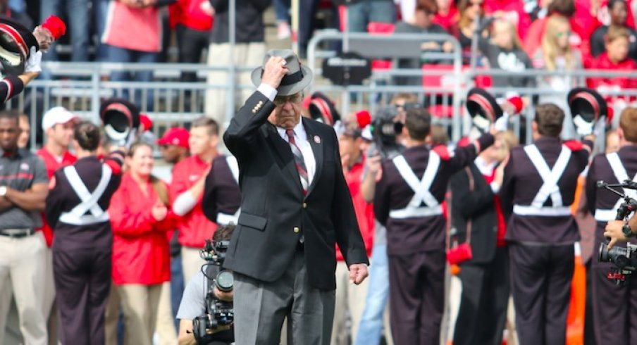 Earle Bruce has Alzheimer's.