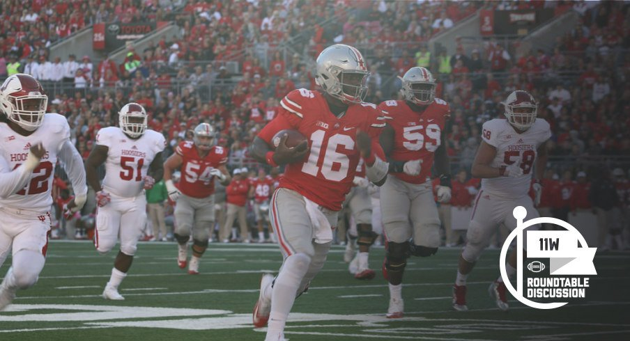 J.T. Barrett needs five yards tonight to become the school's all-time Total Offense leader.