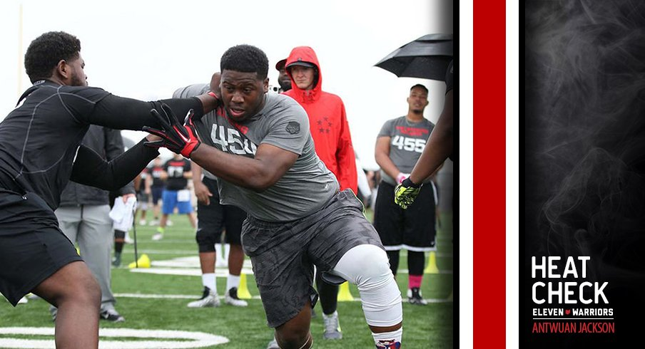 The Buckeyes extended an offer to JUCO DT Antwuan Jackson in August.