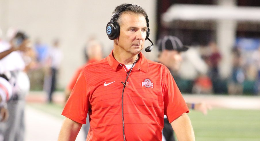 "Urban Meyer says it's time for Ohio State to ""get on a roll"" after losing to Oklahoma."