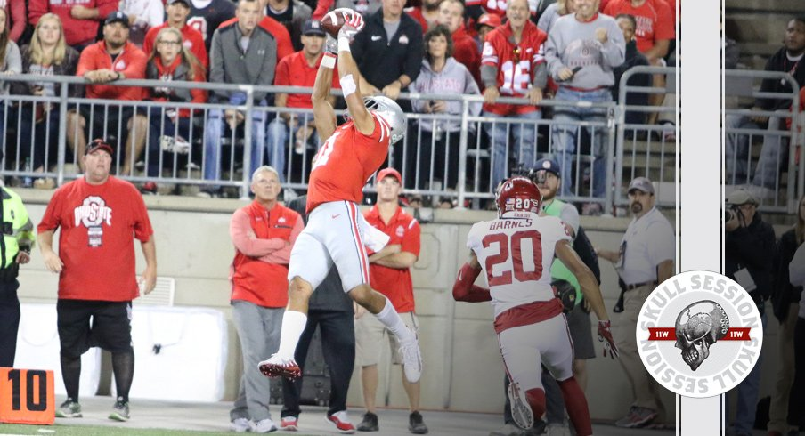 Austin Mack lays out for the September 12 2017 Skull Session.