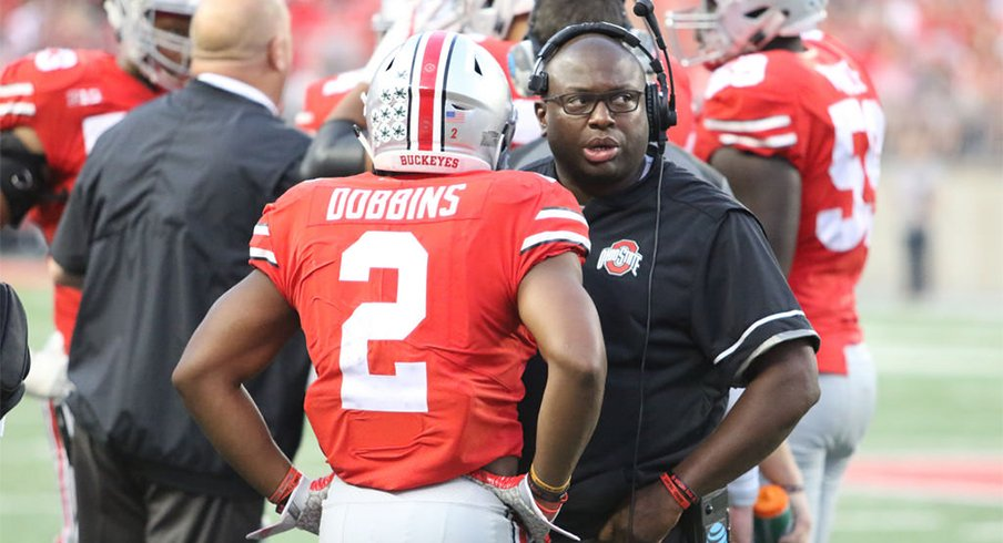 J.K. Dobbins will look to carry the load for the Buckeyes against UNLV.