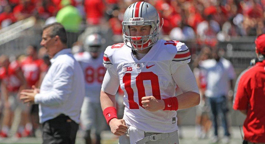 Joe Burrow is back on Ohio State's depth chart.