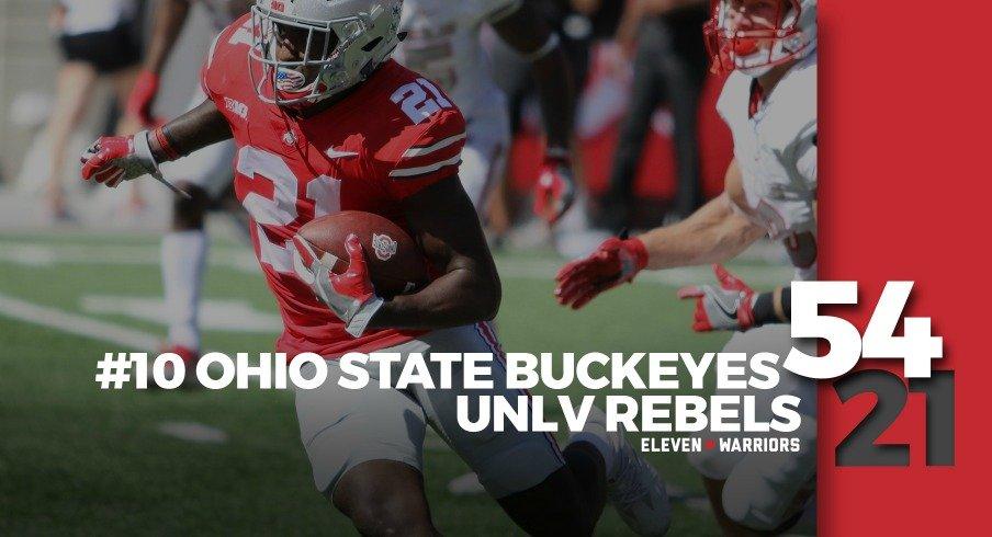 Statagram: Ohio State 54, UNLV 21