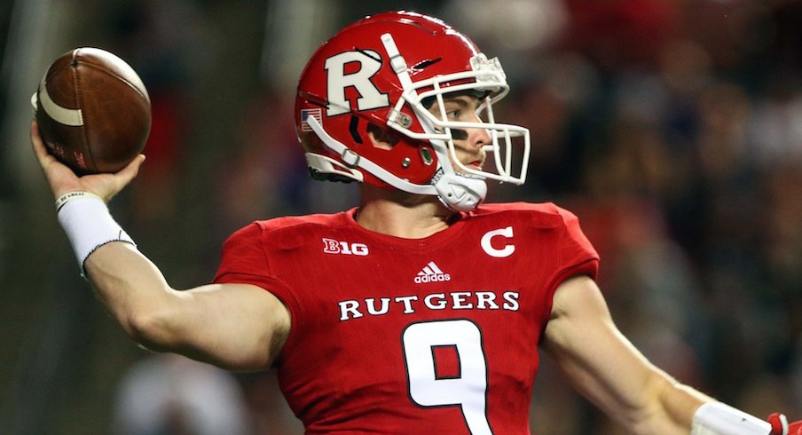 Kyle Bolin and the Rutgers Scarlet Knights host Ohio State on Saturday.