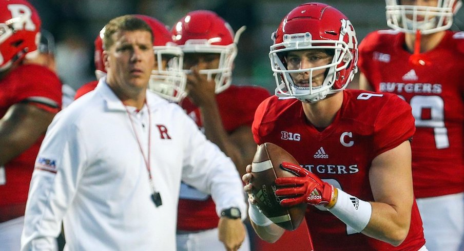 Chris Ash, Kyle Bolin and the Rutgers Scarlet Knights will host Ohio State on Saturday.