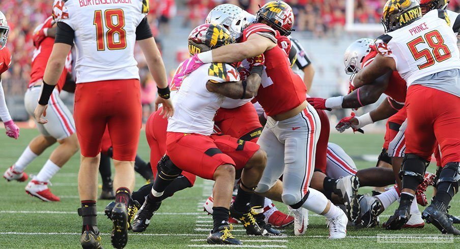 Ohio State's defense had itself a day against Maryland.