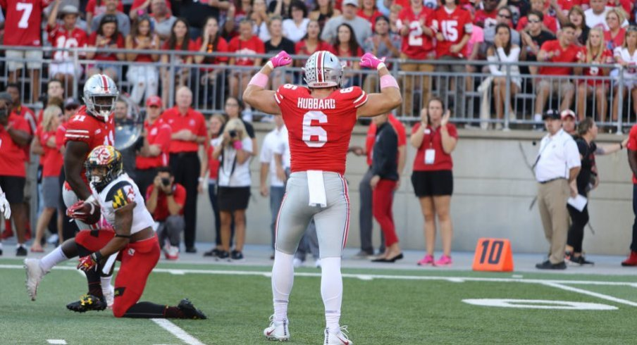 Sam Hubbard and the OSU defense stymied Maryland all day long.